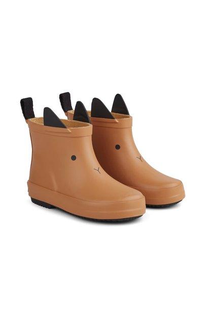 Tobi rain boot rabbit mustard