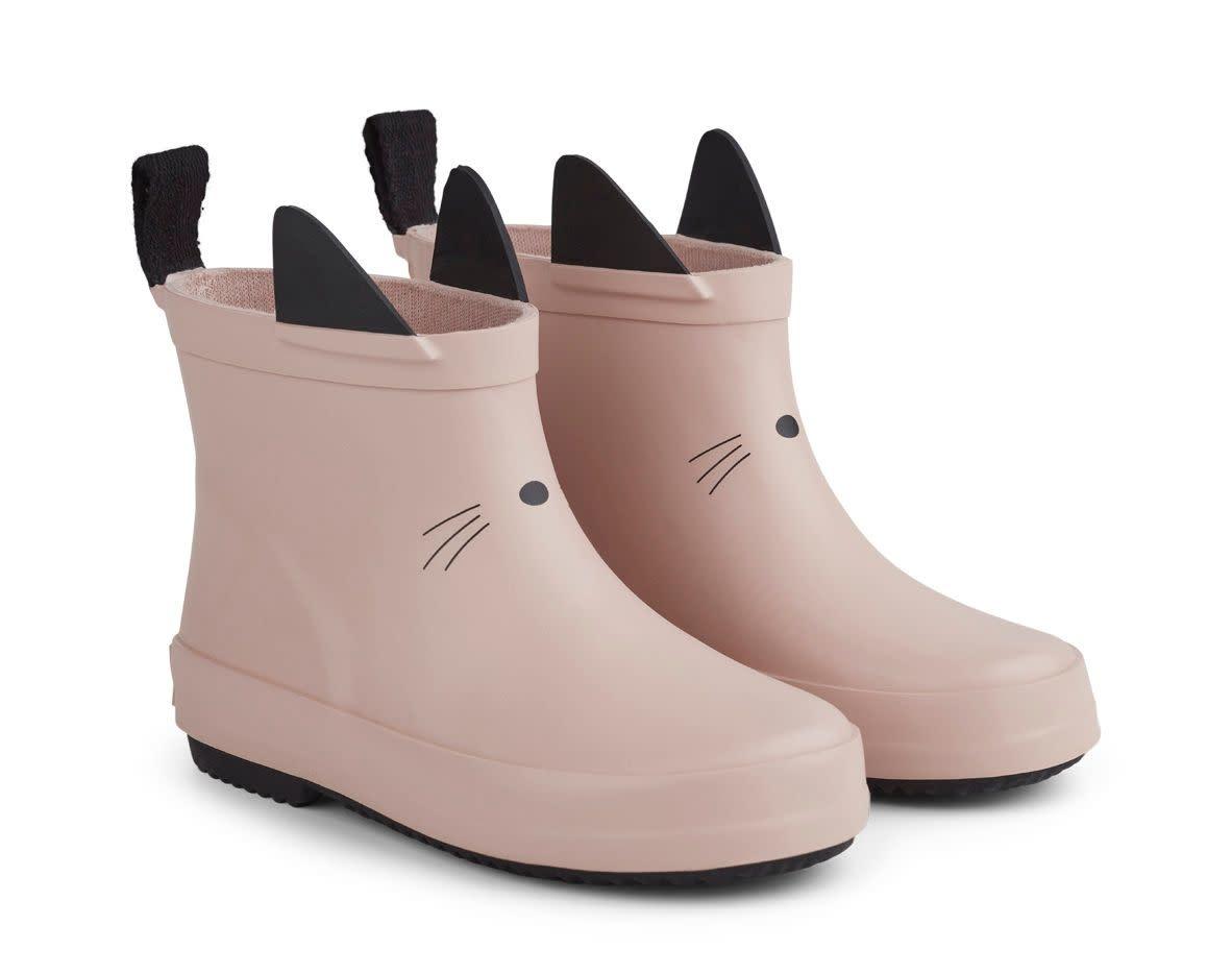 Tobi rain boot cat rose-1