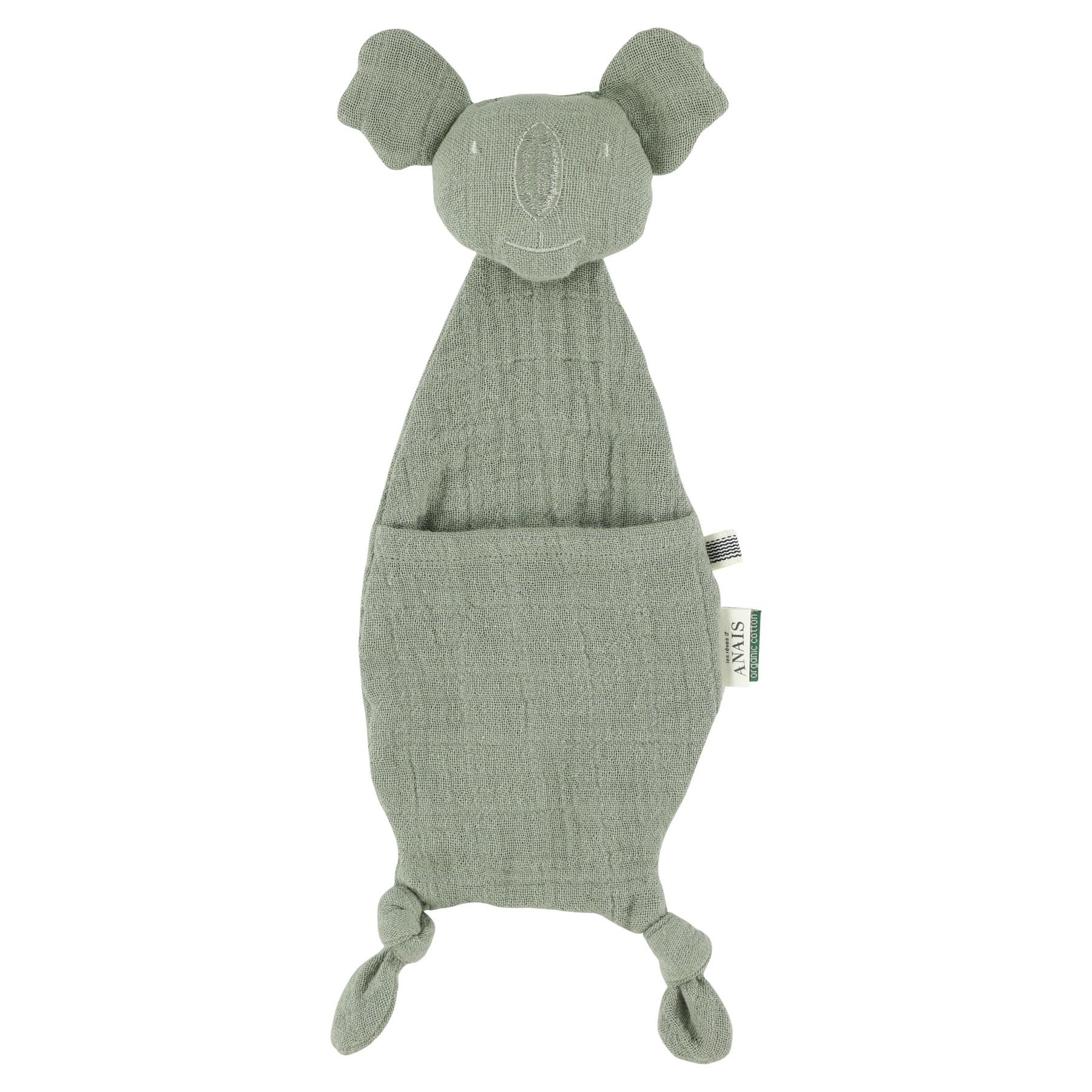 Fopspeendoekje koala bliss olive-1
