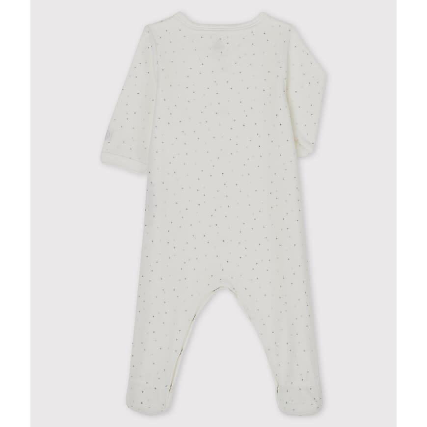 Dors bien fleece pyjama met voetjes stars-2