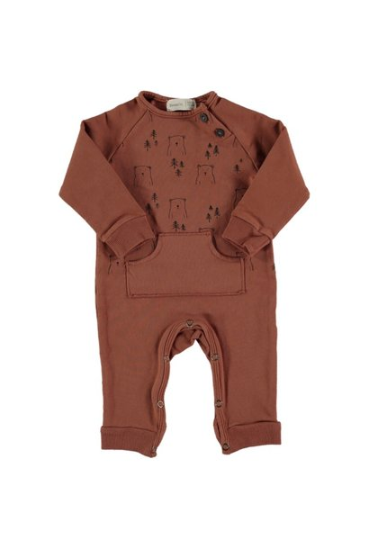 Owl bears playsuit tile