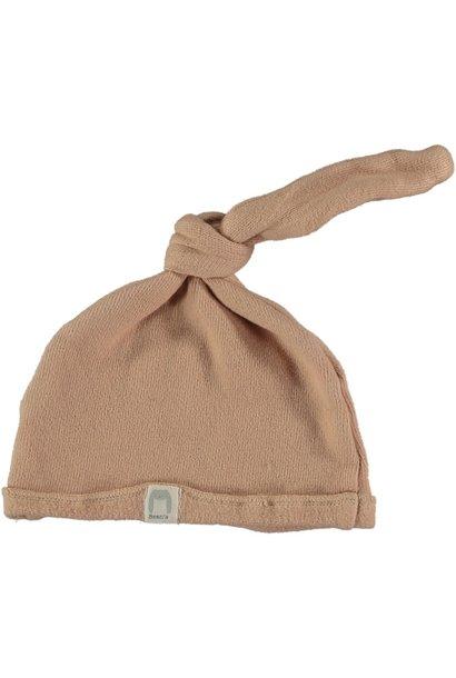 Cottage warm fleece newborn cap nude