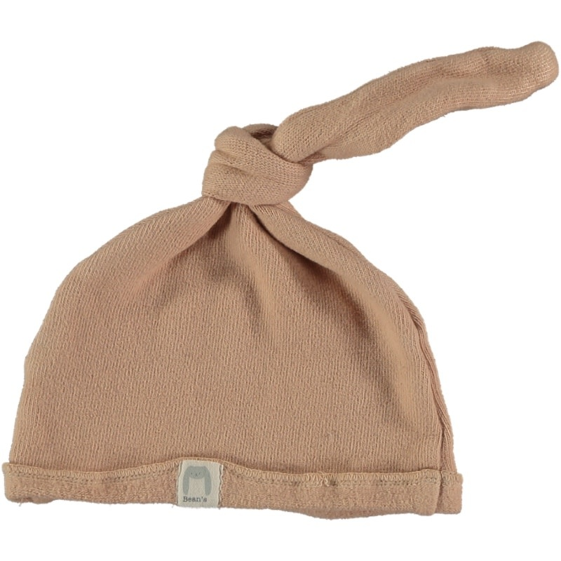 Cottage warm fleece newborn cap nude-1