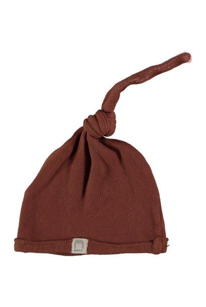 Cottage warm fleece newborn cap tile