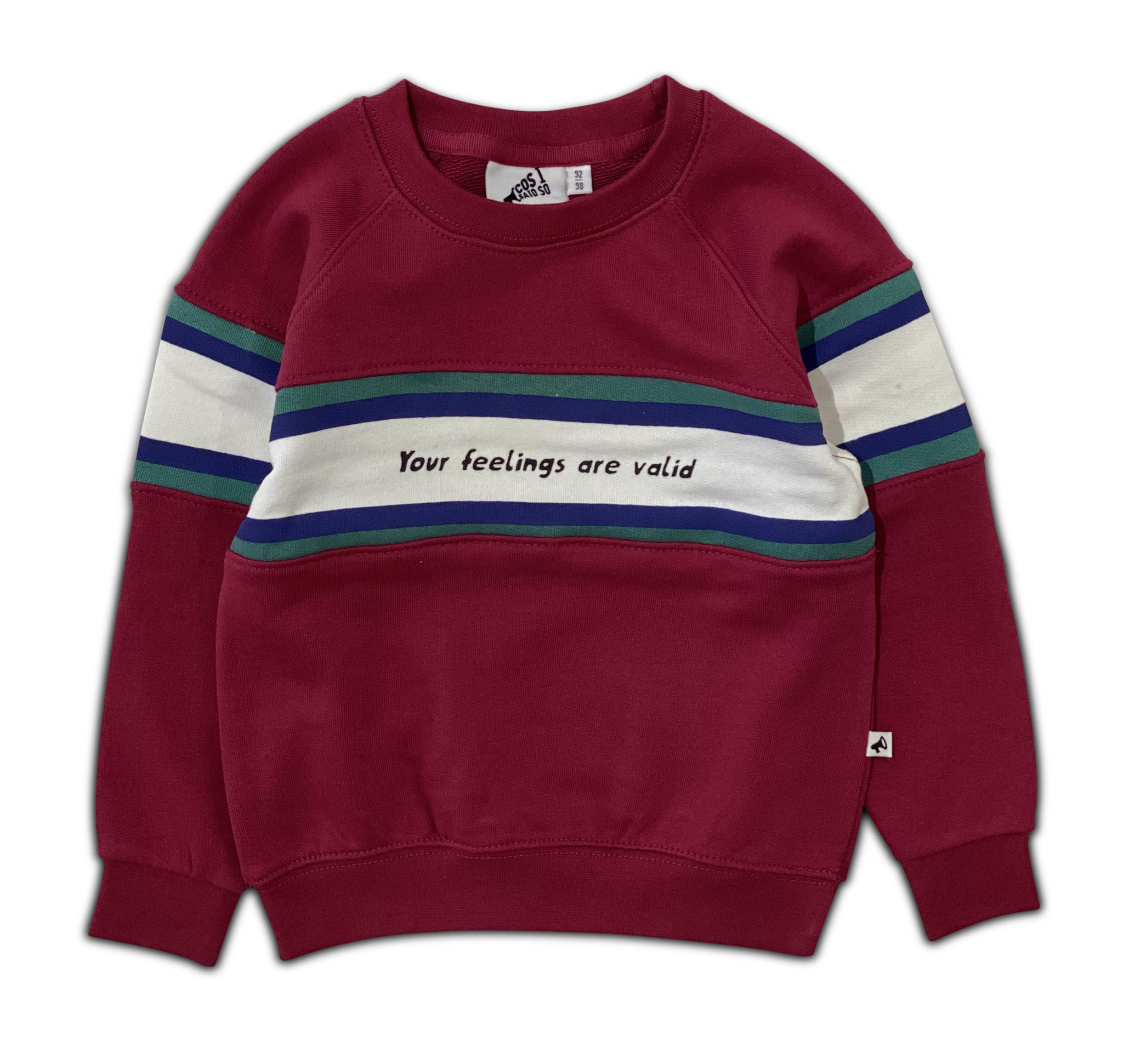 Your feelings are valid sweater-1