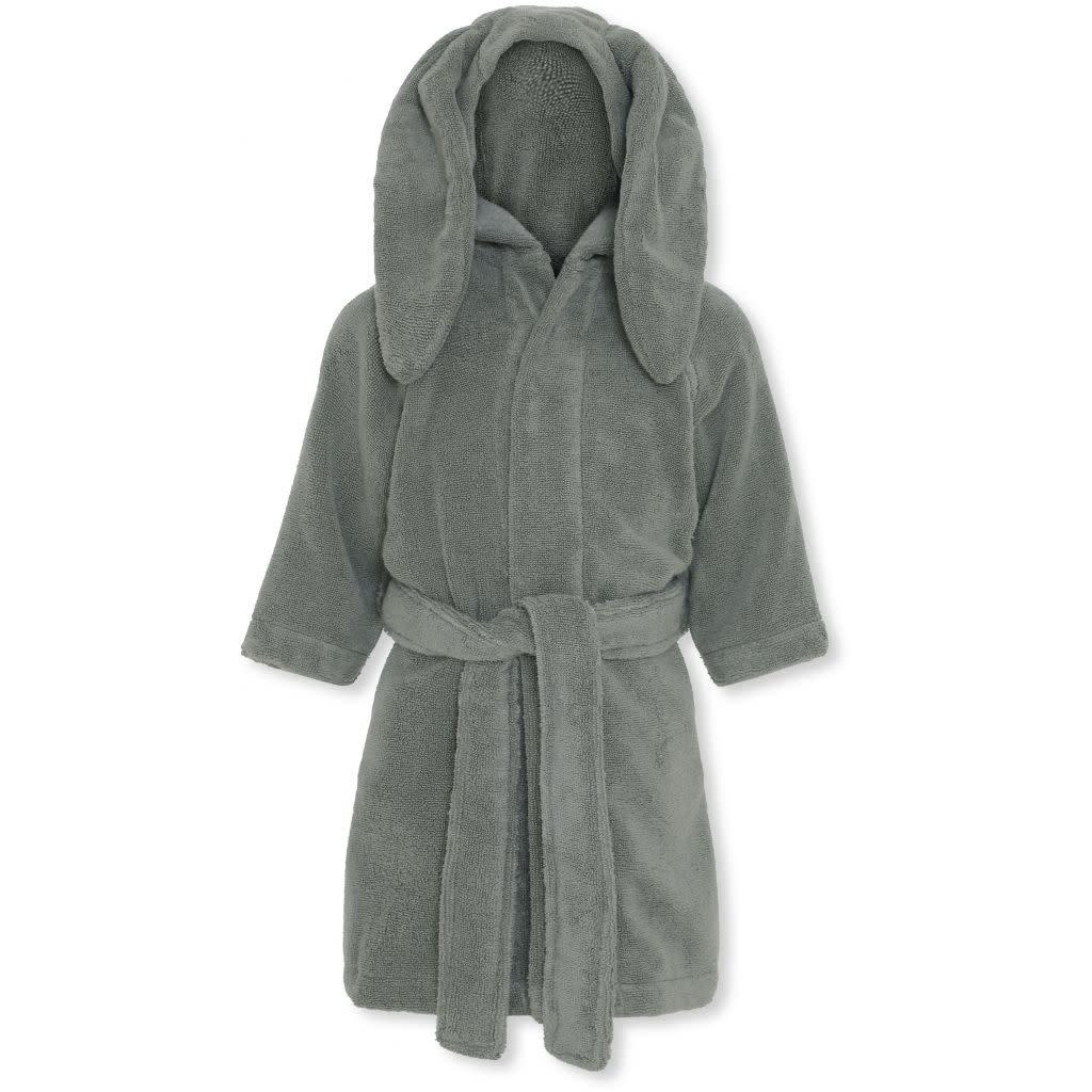 Kids terry bathrobe storm grey-1