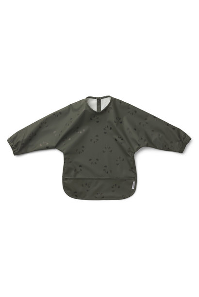 Merle cape bib panda hunter green