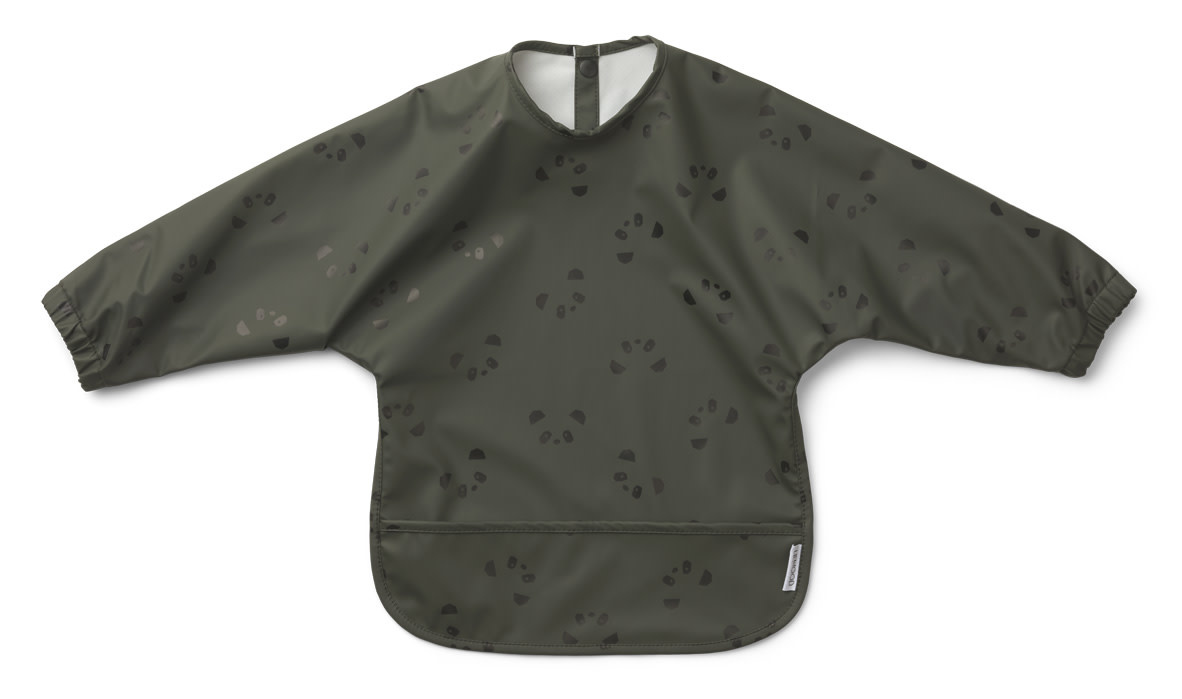 Merle cape bib panda hunter green-1