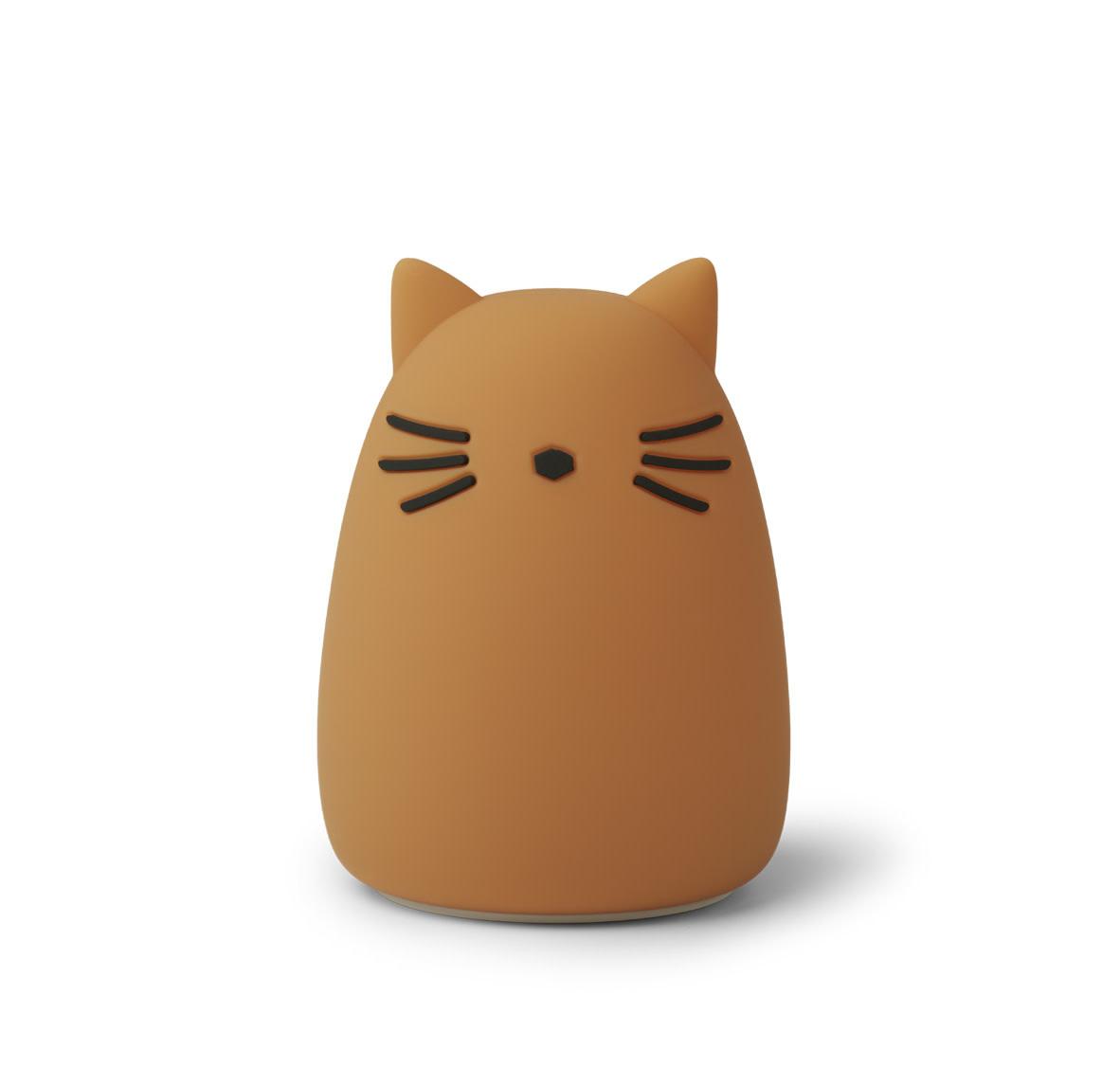 Winston night light cat mustard-1