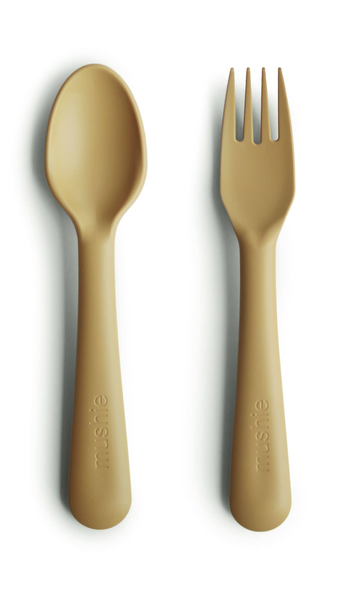 Fork & spoon mustard-1