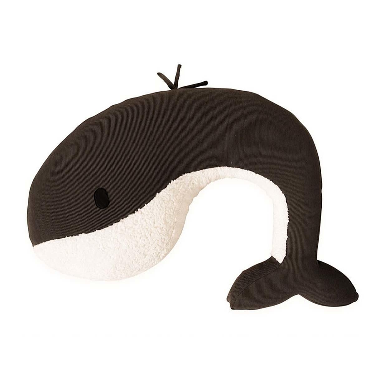 Feeding pillow whale momo army green-1
