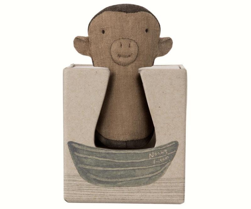 Noah's friends monkey rattle-1