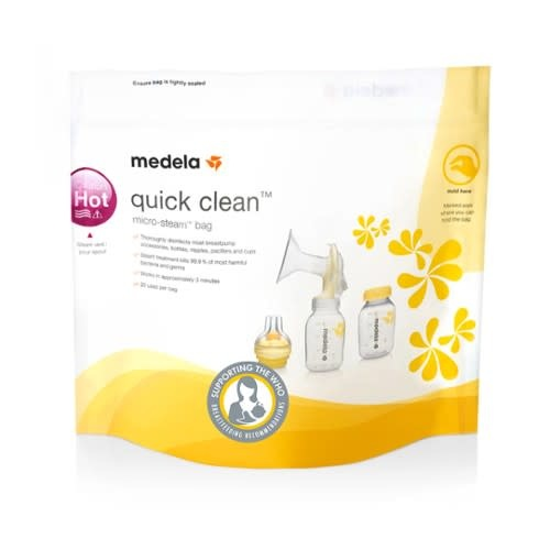 QuickClean microgolfsterilisatie - 5 stuks-1