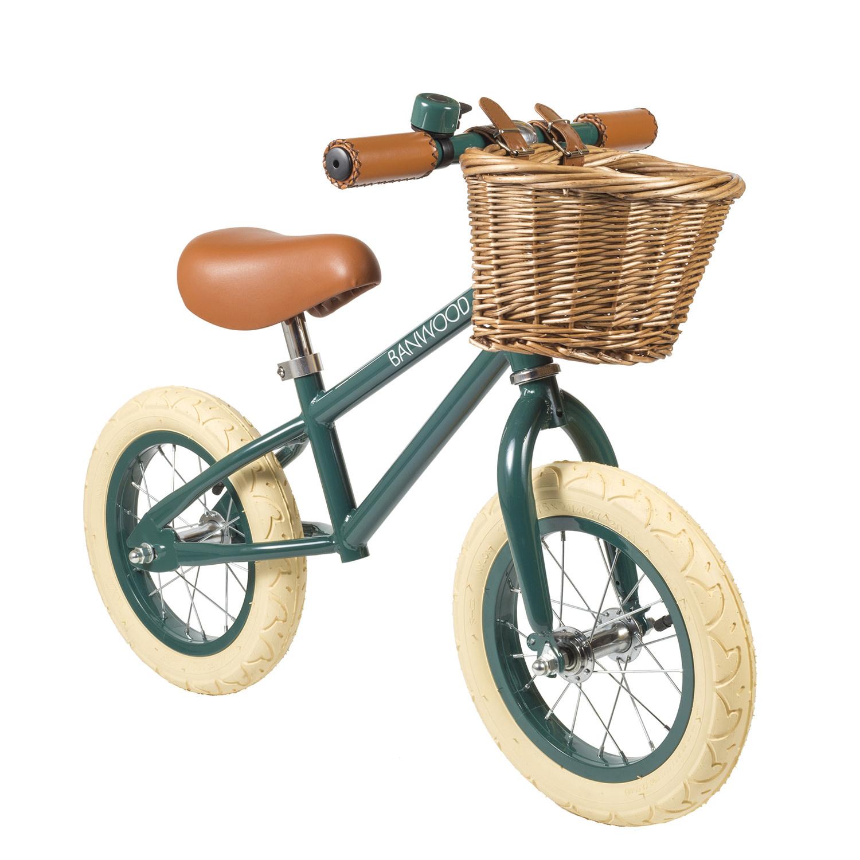 Balance bike first go dark green-1