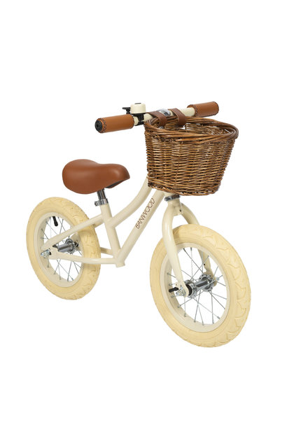 Balance bike first go girl cream