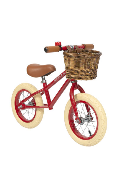 Balance bike first go red