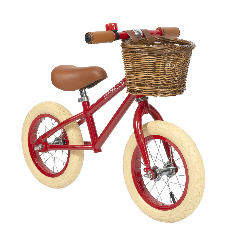 Balance bike first go red-1