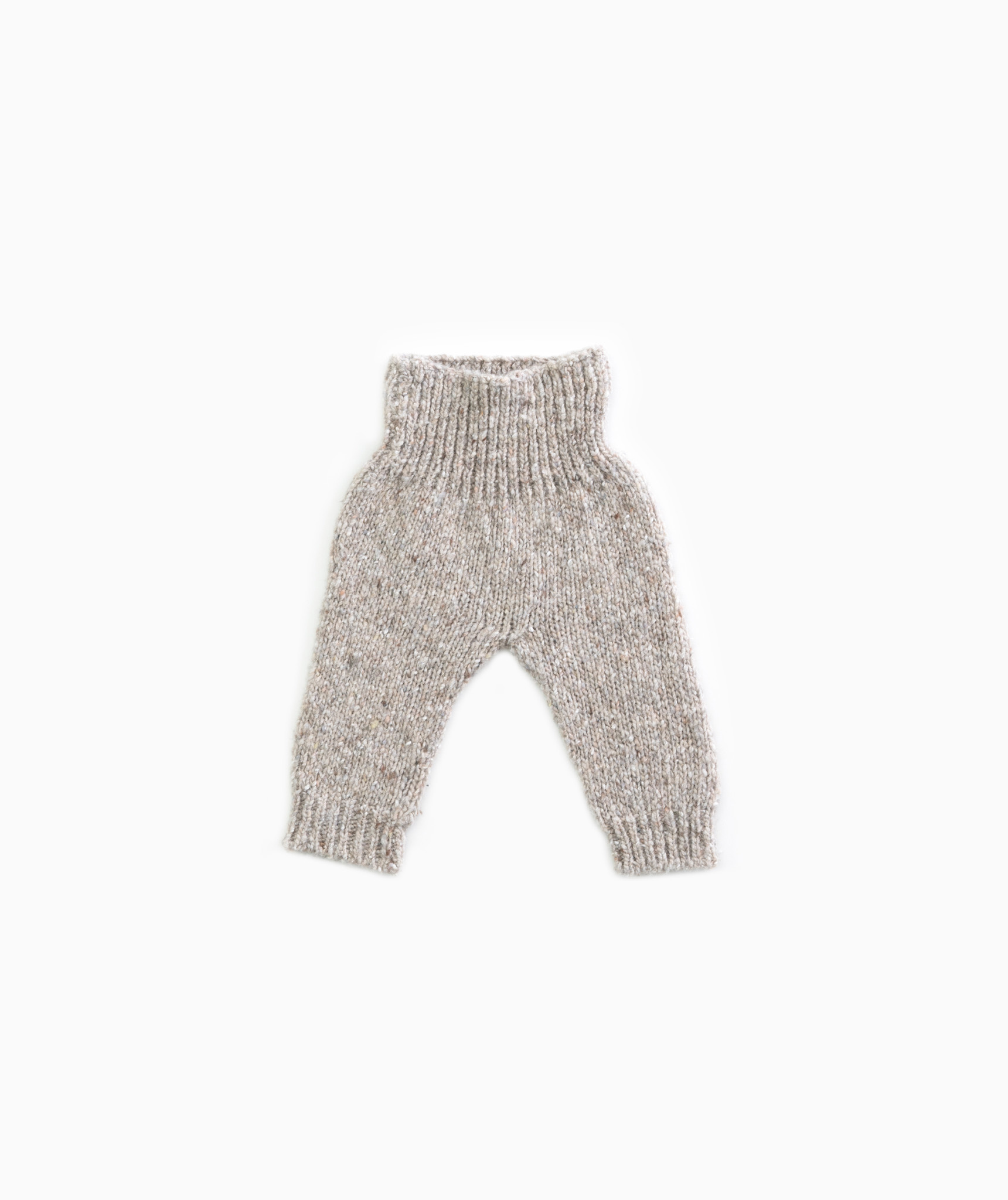Knitted trousers-1