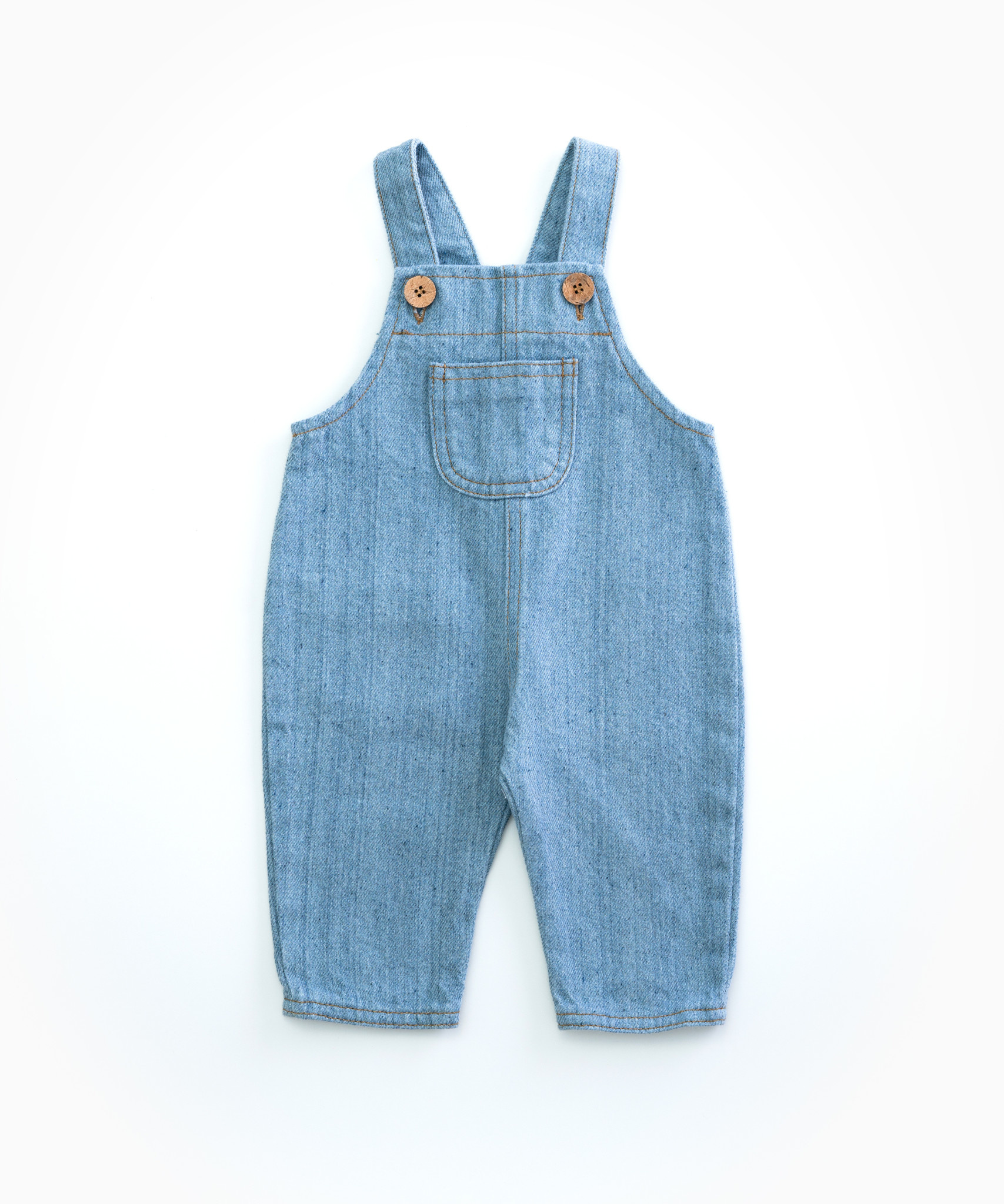 Recycle denim dungaree-1