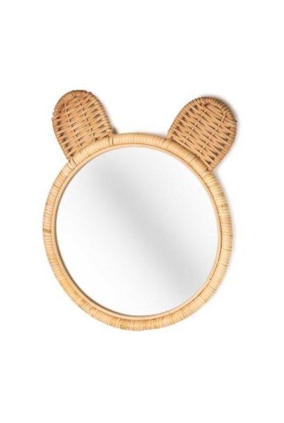 Minon spiegel bamboe