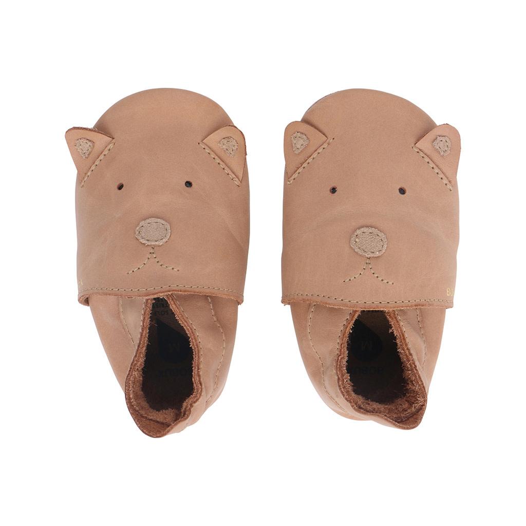 Soft soles caramel woof-1