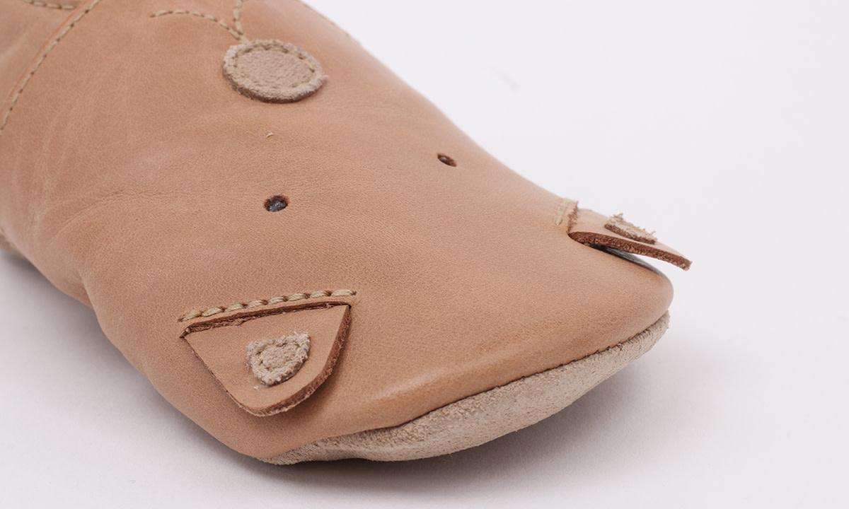 Soft soles caramel woof-2