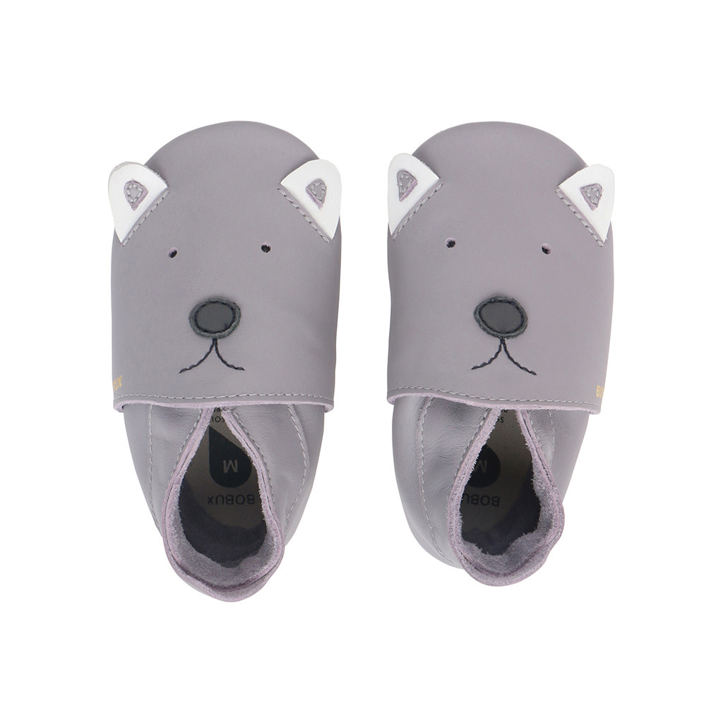 Soft soles gull grey woof-1