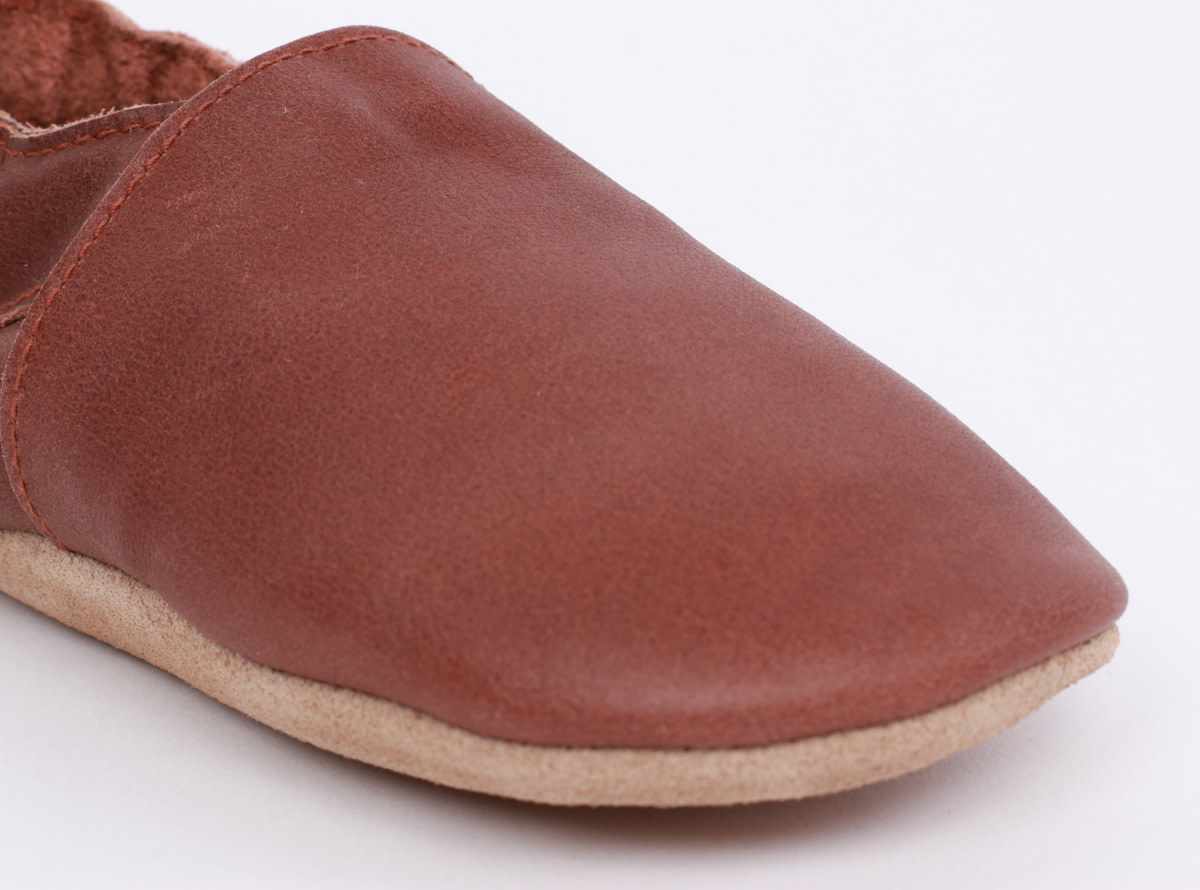 Soft soles simple shoe toffee-3