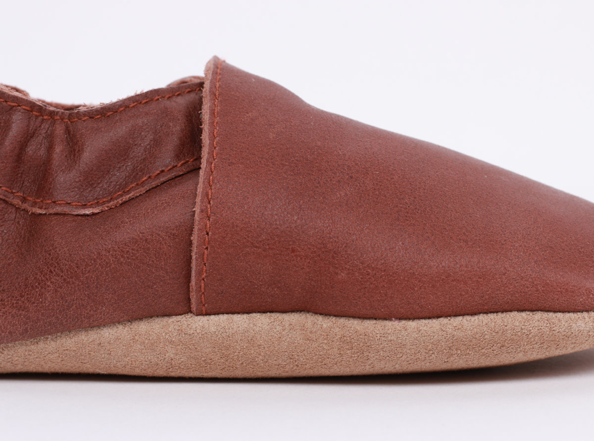 Soft soles simple shoe toffee-4