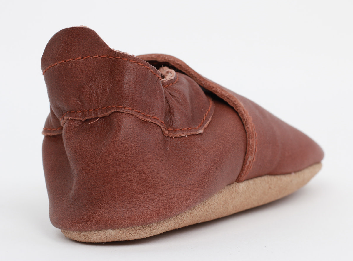 Soft soles simple shoe toffee-5