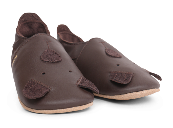 Soft soles chocolate cub-2