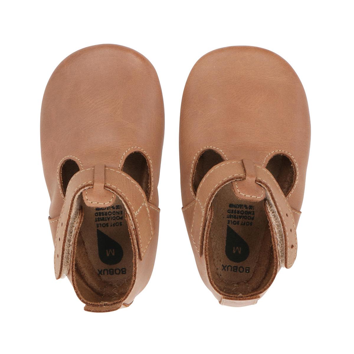 Soft soles jack & jill caramel-1