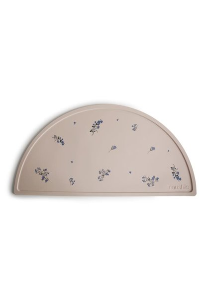 Silicone placemat lilac flowers