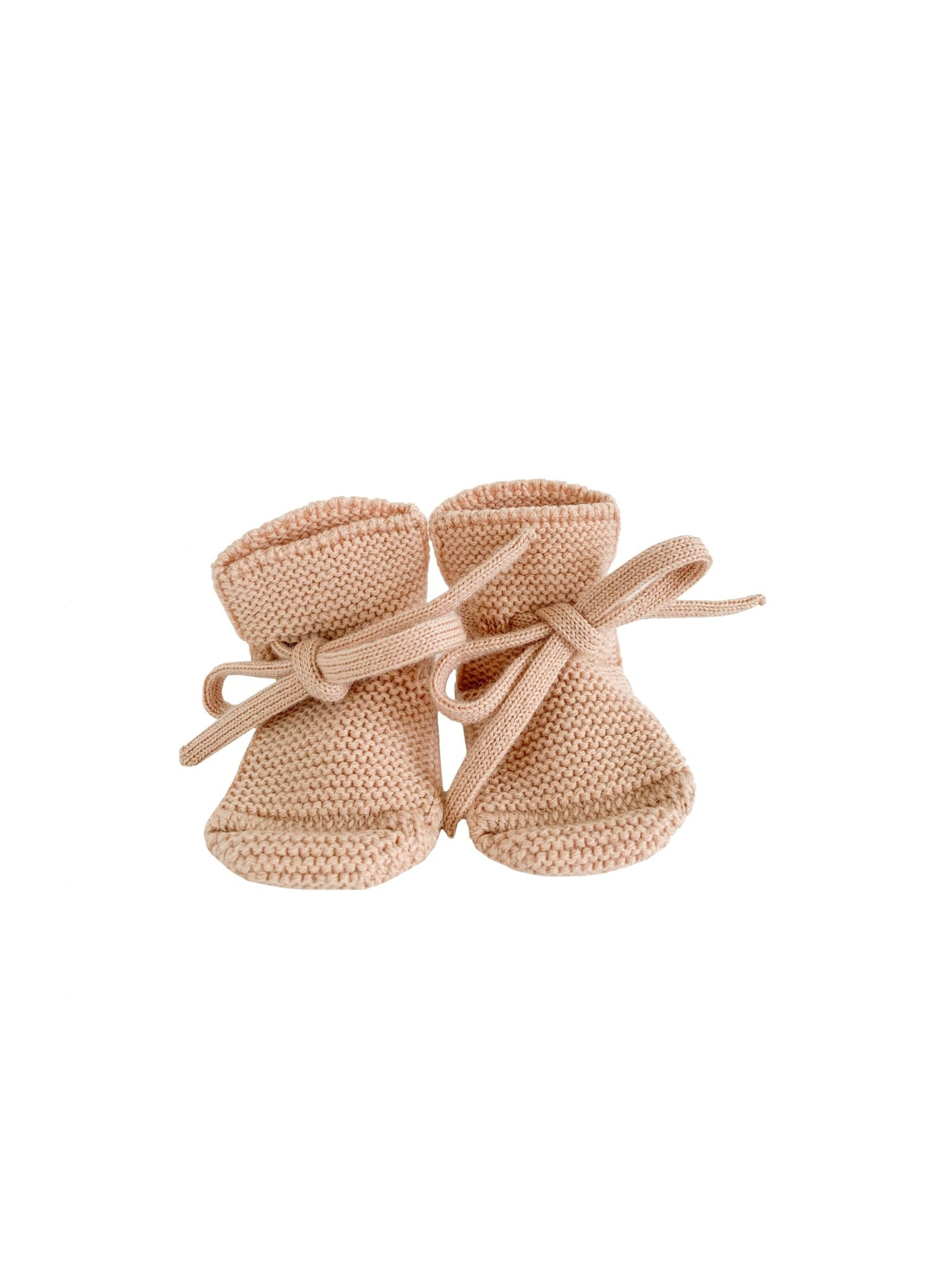 Booties apricot-1