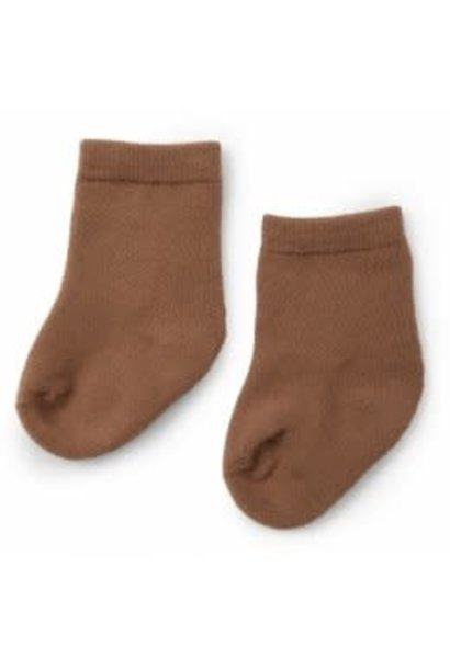 Terry socks almond