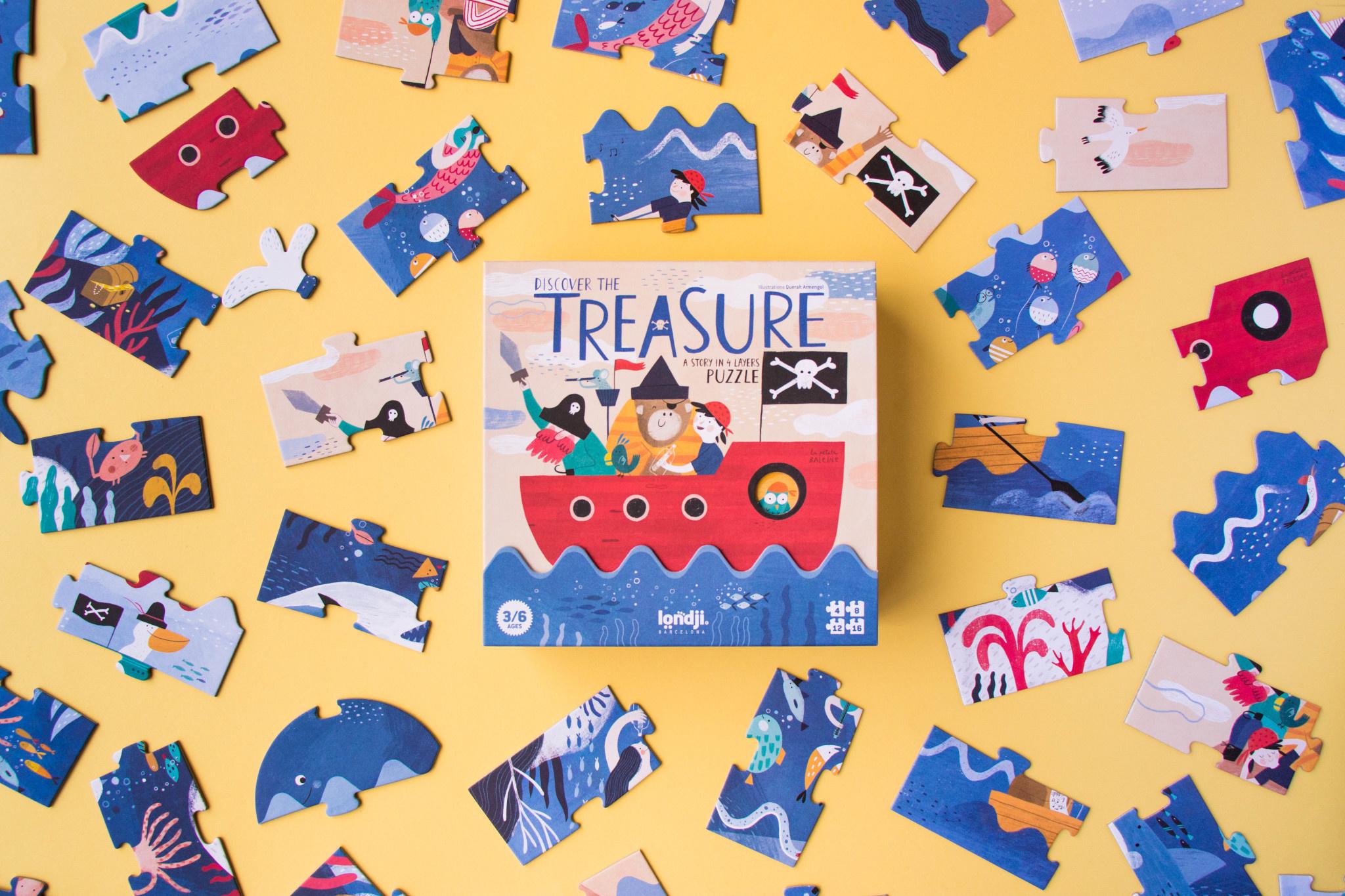 Puzzle discover the treasure-2