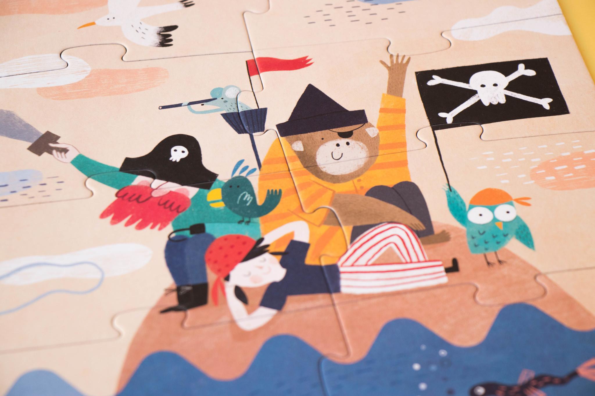Puzzle discover the treasure-4