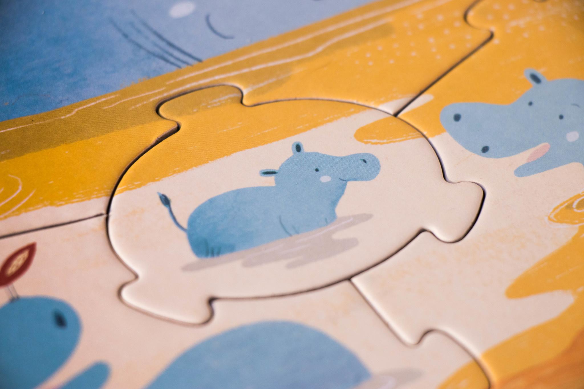 Puzzle look i'm big-6
