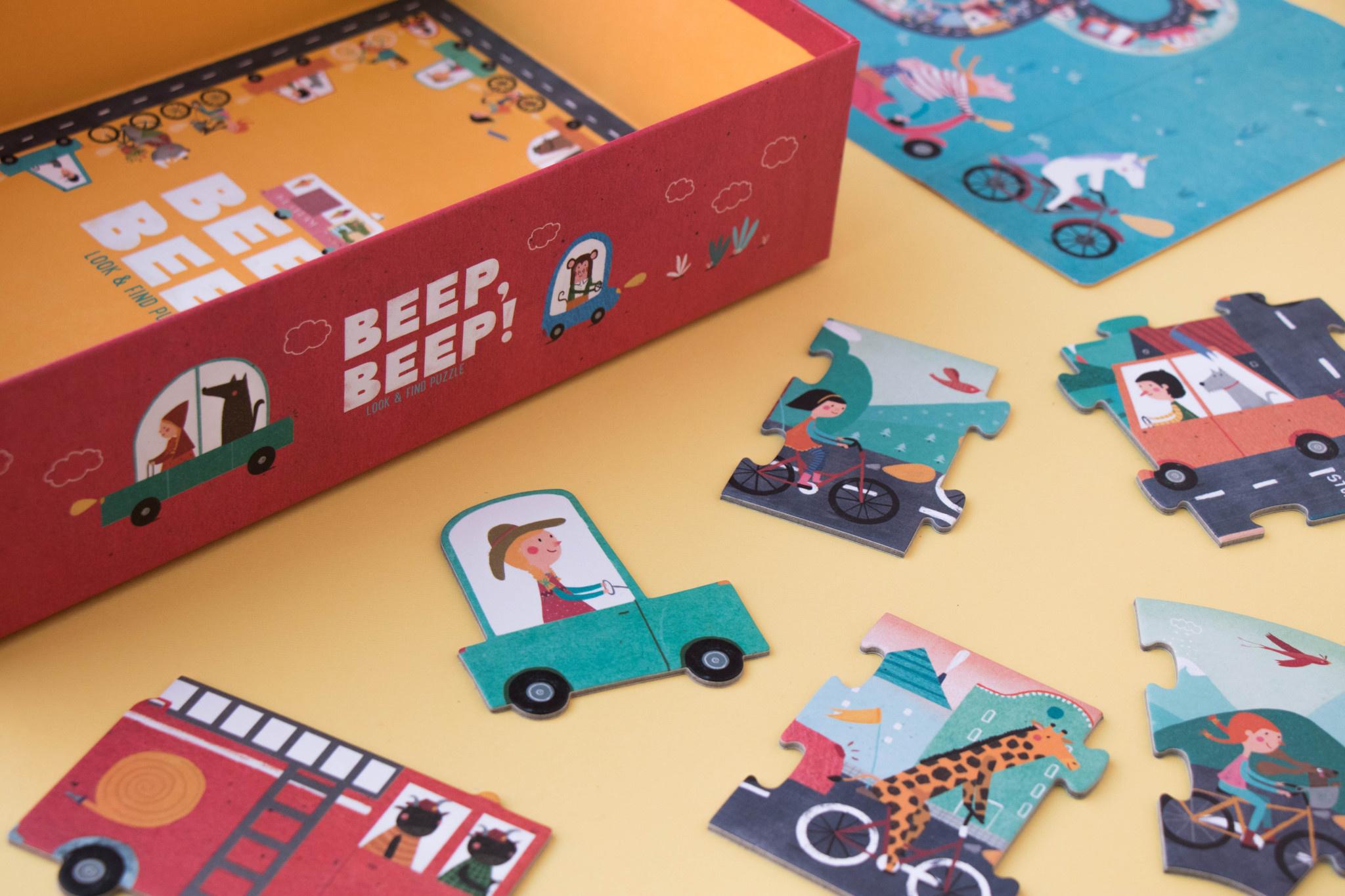 Puzzle beep beep-4