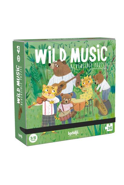 Puzzle wild music