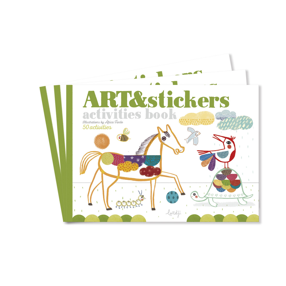 Activities book art & stickers-1