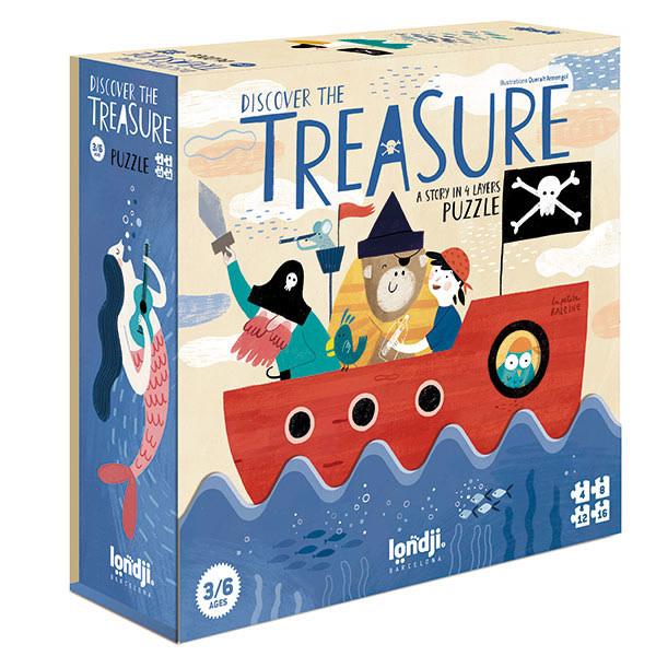 Puzzle discover the treasure-1