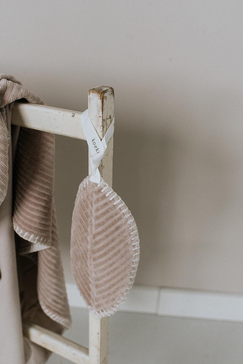 Speendoekje vik grey pink-2