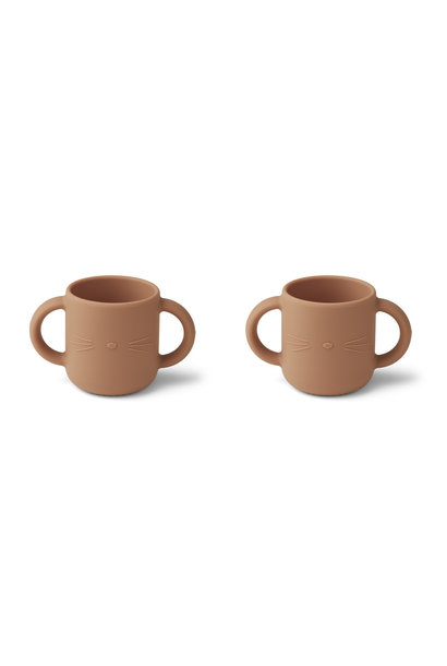 Gene silicone cup cat tuscany rose - 2 pack