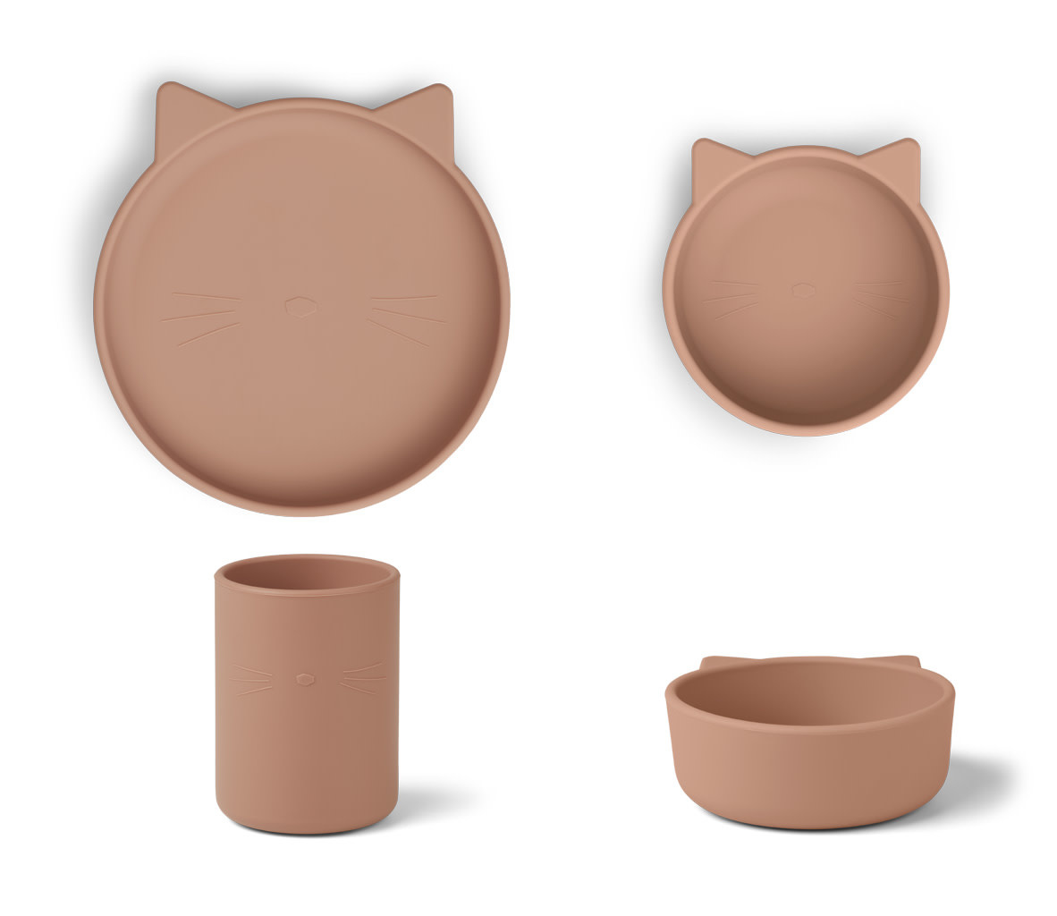 Cyrus silicone junior set cat dark rose-1