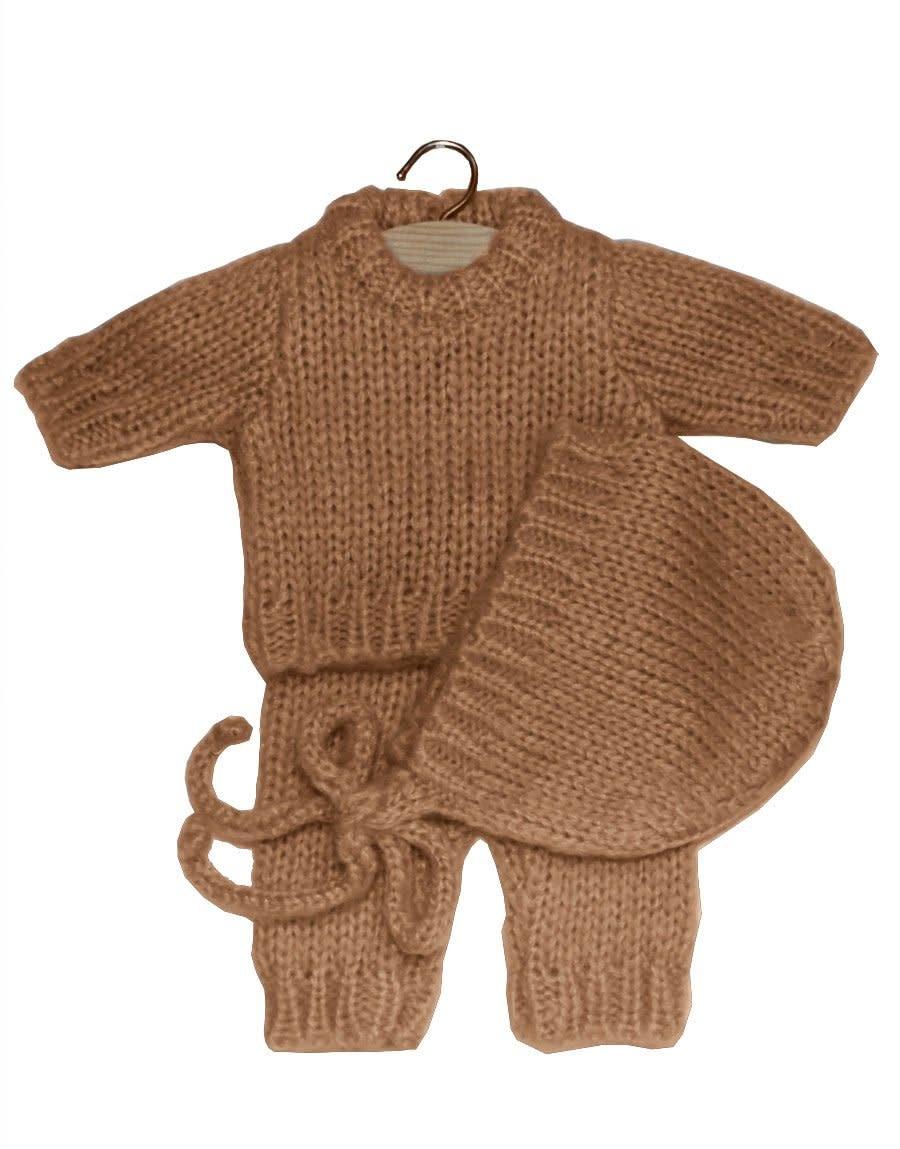 Ensemble gaspard en laine taupe-1