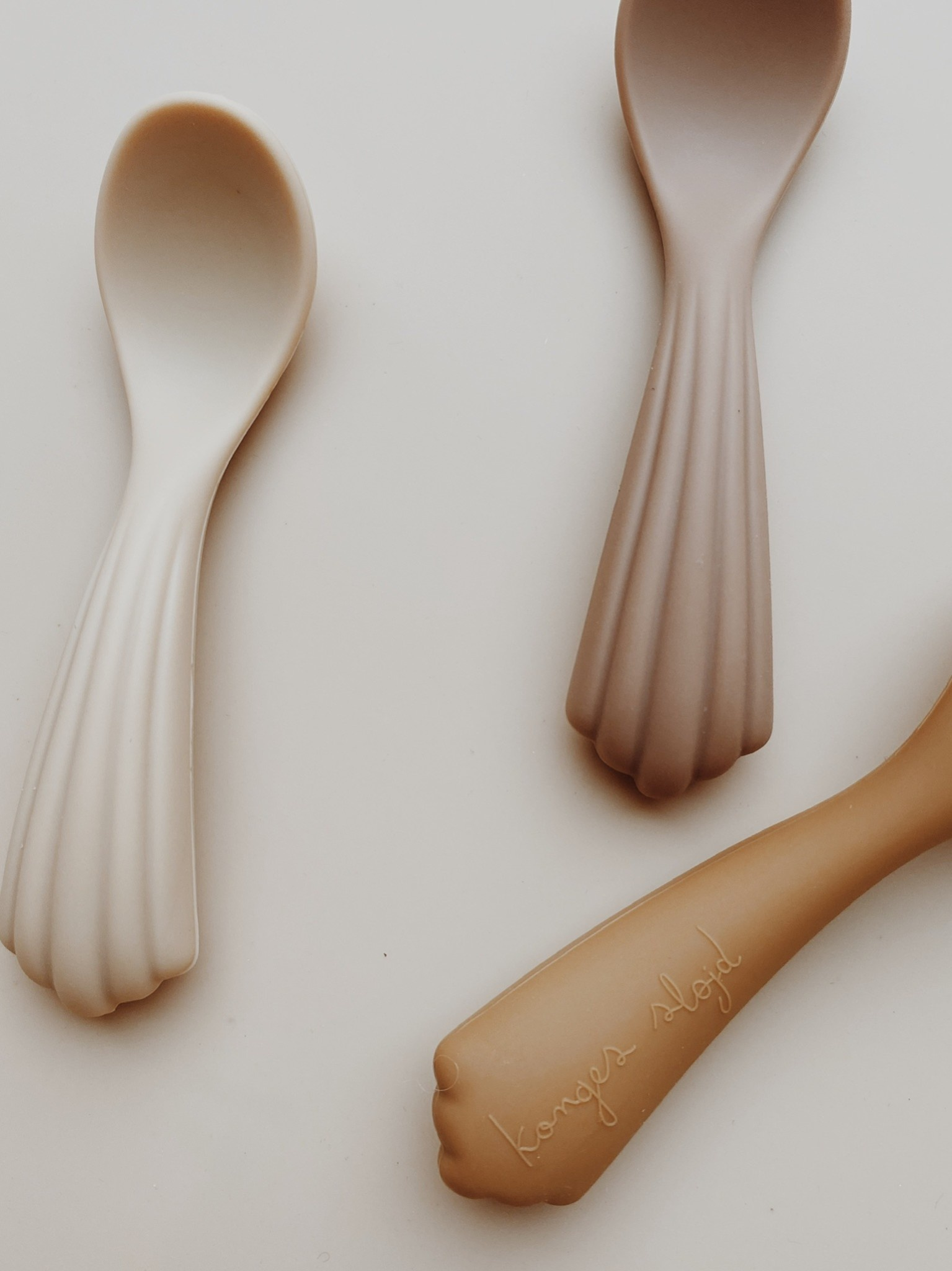 Silicone spoons shell - 3 pack-2