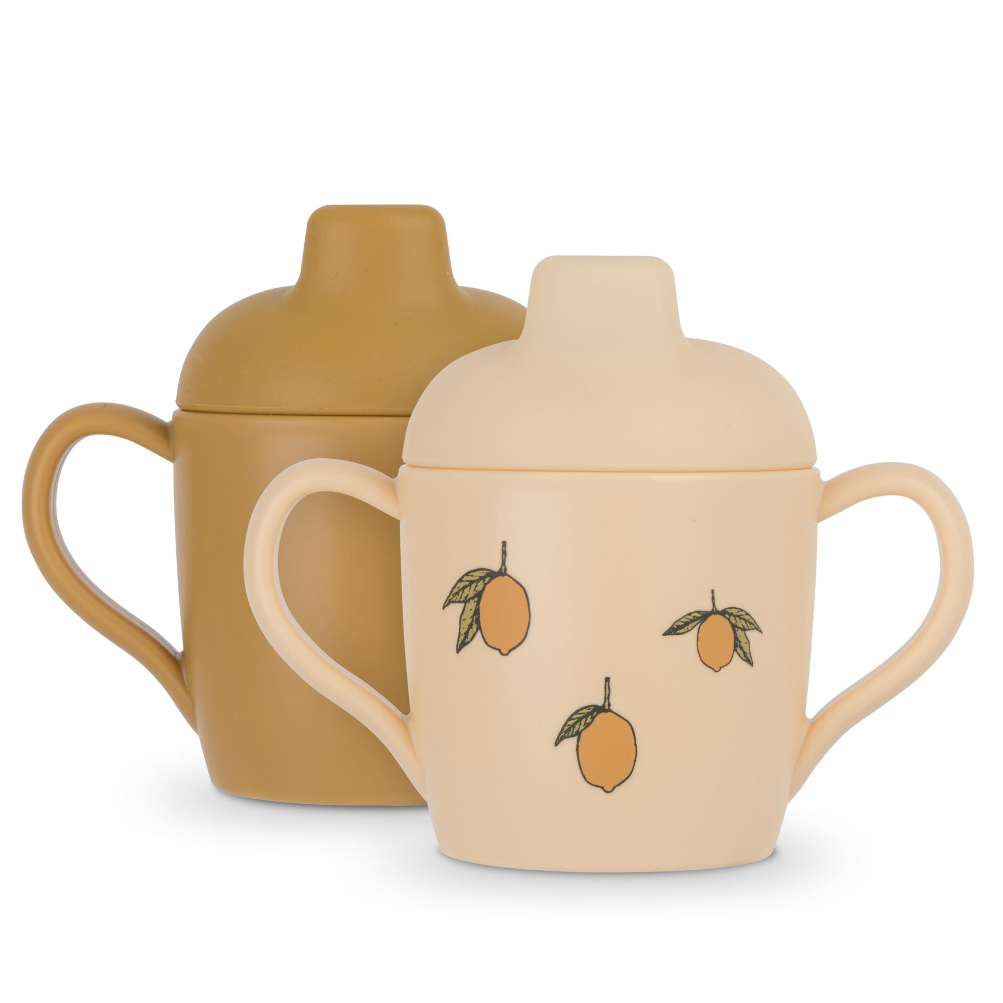 Sippy cup lemon - 2 pack-1