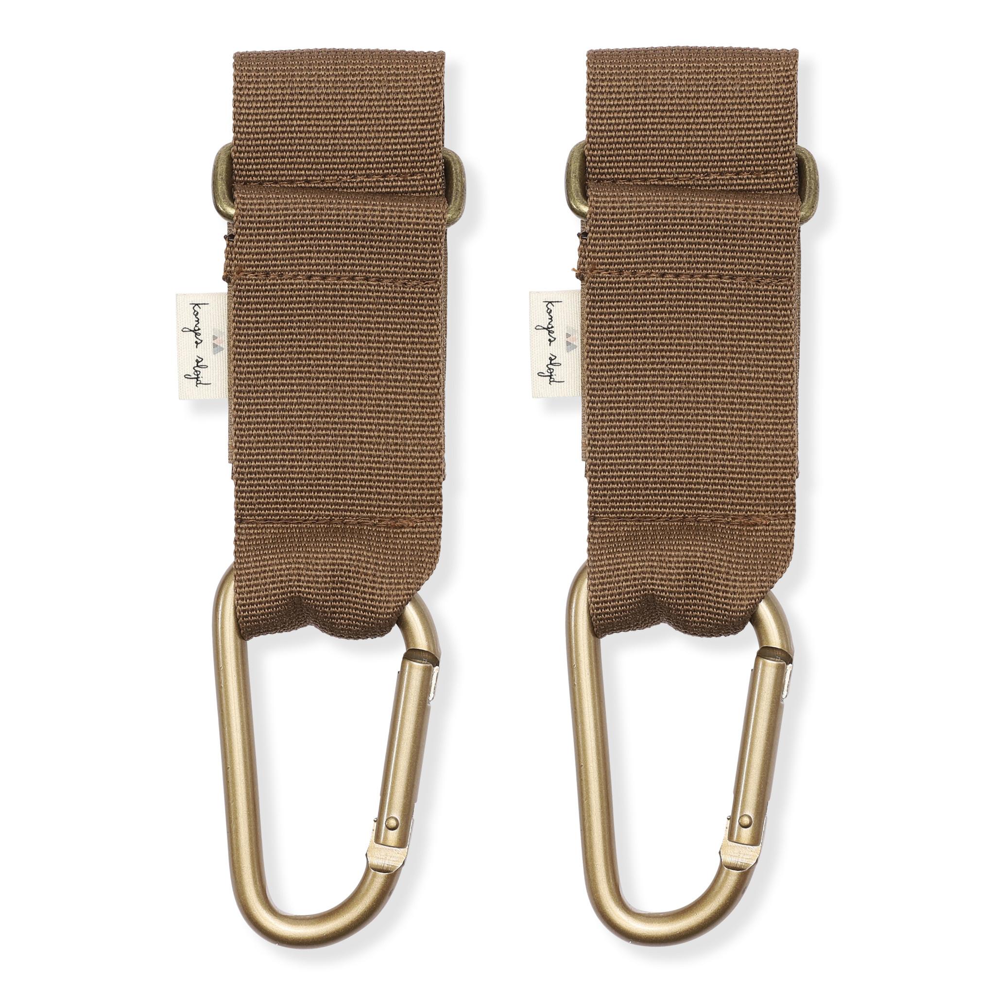 Stroller straps walnut-1