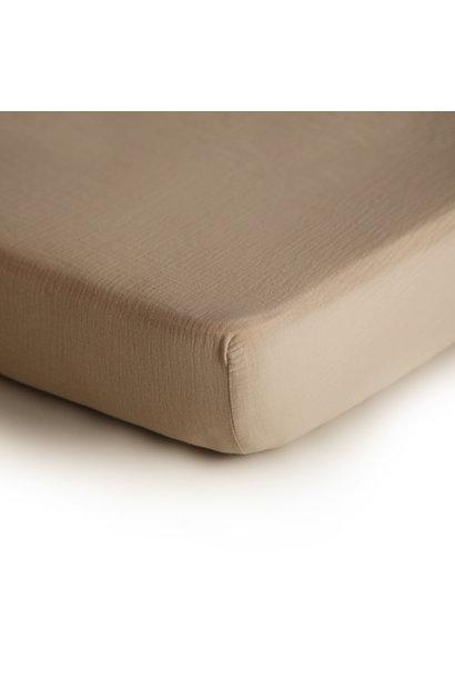 Crib sheet natural